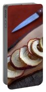 Apple Chips Portable Battery Charger by Joana Kruse