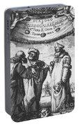 Aristotle, Ptolemy And Copernicus Portable Battery Charger