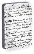 Arthur Rimbaud (1854-1891) Portable Battery Charger