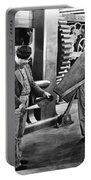Chaplin: Modern Times, 1936 Portable Battery Charger