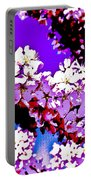 Cherry Blossom Art Portable Battery Charger