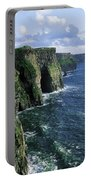 Cliffs Of Moher, Co Clare, Ireland Portable Battery Charger