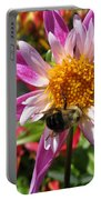 Dahlia Named Lorona Dawn Portable Battery Charger