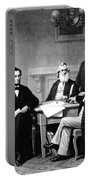 Emancipation Proclamation Portable Battery Charger by Photo Researchers