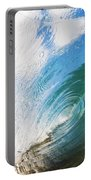 Glassy Breaking Wave Portable Battery Charger