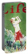 Golfing: Magazine Cover Portable Battery Charger