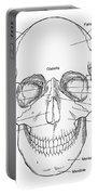 Illustration Of Anterior Skull Portable Battery Charger