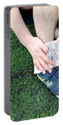 Injured Ankle Portable Battery Charger by Photo Researchers