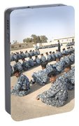 Iraqi Police Cadets Being Trained Portable Battery Charger