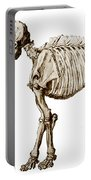 Mastodon Skeleton Portable Battery Charger by Science Source