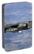 Mirage F1cr Of The French Air Force Portable Battery Charger
