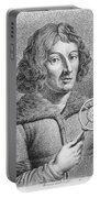 Nicolaus Copernicus, Polish Astronomer Portable Battery Charger by Omikron