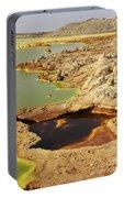 Potassium Salt Deposits, Dallol Portable Battery Charger