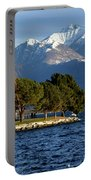 Snow-capped Mountain Portable Battery Charger