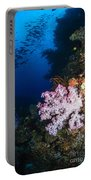 Soft Coral Seascape, Fiji Portable Battery Charger