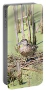 Teal Duck Portable Battery Charger