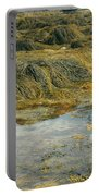 Young Girl Exploring A Maine Tidepool Portable Battery Charger