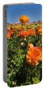 Flower Fields Portable Battery Charger