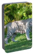 35- White Bengal Tiger Portable Battery Charger