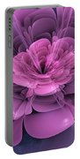 3d Flower Portable Battery Charger
