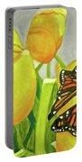4 Butterflies Portable Battery Charger