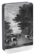 Cattle, 19th Century Portable Battery Charger