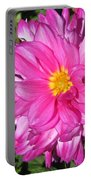 Dahlia Named Who Dun It Portable Battery Charger