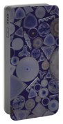 Diatoms Portable Battery Charger by M. I. Walker