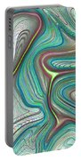 Digital Art Abstract Portable Battery Charger