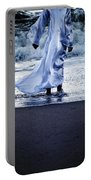 Girl At The Sea Portable Battery Charger