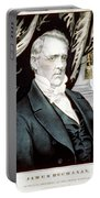 James Buchanan, 15th American President Portable Battery Charger
