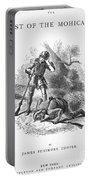 Last Of The Mohicans, 1872 Portable Battery Charger