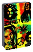 4 One Love Portable Battery Charger