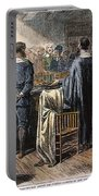 Pilgrims: Thanksgiving, 1621 Portable Battery Charger
