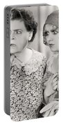 Silent Film Still: Women Portable Battery Charger