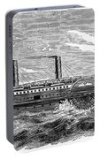 4 Wheel Steamship, 1867 Portable Battery Charger