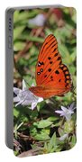 42- Fritillary Butterfly Portable Battery Charger
