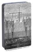 Brooklyn Bridge, 1870 Portable Battery Charger