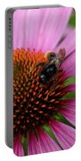 Eastern Purple Coneflower Portable Battery Charger