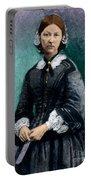 Florence Nightingale, English Nurse Portable Battery Charger