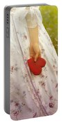 Heart Portable Battery Charger