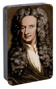 Isaac Newton, English Polymath Portable Battery Charger