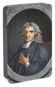 John Flamsteed, English Astronomer Portable Battery Charger