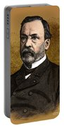 Louis Pasteur, French Chemist Portable Battery Charger by Science Source