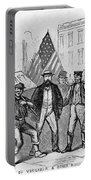 New York: Draft Riots, 1863 Portable Battery Charger