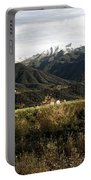 Ojai Valley With Snow Portable Battery Charger