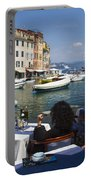 Portofino In The Italian Riviera In Liguria Italy Portable Battery Charger