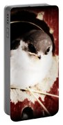 Red Barn Birdie Portable Battery Charger