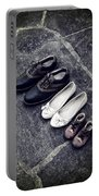 Shoes Portable Battery Charger by Joana Kruse