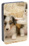 Kitten And Pup Portable Battery Charger